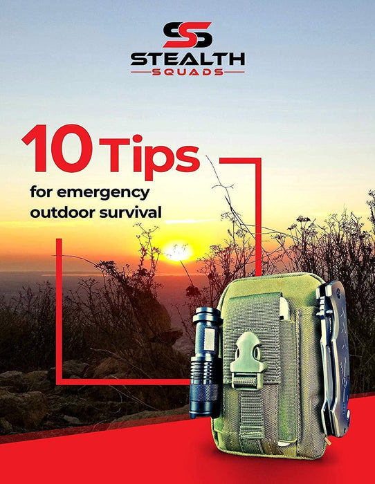42 in 1 SURVIVAL MILITARY POUCH KIT, PREMIUM TACTICAL POCKET KNIFE, FIRST AID KITCAMPING, HIKING, BIKING, OUTDOOR EMERGENCY SAFETY GEARS - iregalijoy.com