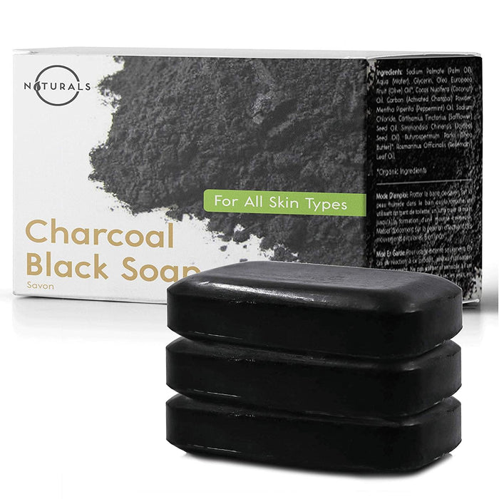 Activated Charcoal Black Bar Soap - iregalijoy.com
