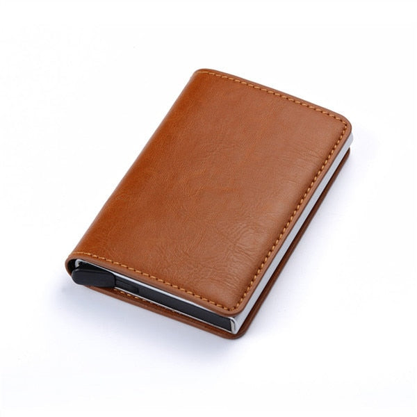 Aluminum Metal Credit Business Mini Card Wallet 2020 Dropshipping Man Women Smart Wallet Business Card Holder Rfid Wallet - iregalijoy.com