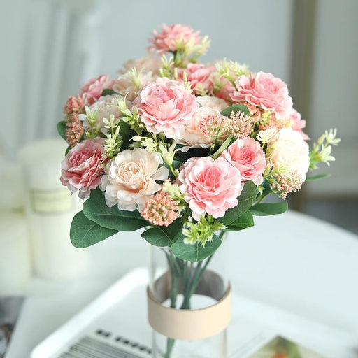 Artificial Flowers Silk Rose for Wedding Party Home Garden Decorations Bride Bouquet DIY Craft Wreath Accessories Fake Flowers - iregalijoy.com