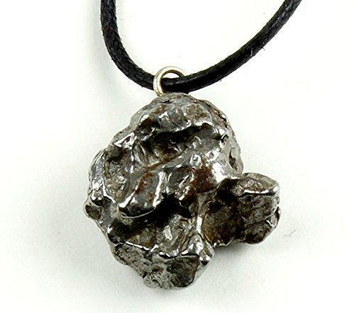 Authentic Meteorite Pendant Necklace, Treasure Chest Box, Velvet Pouch - iregalijoy.com