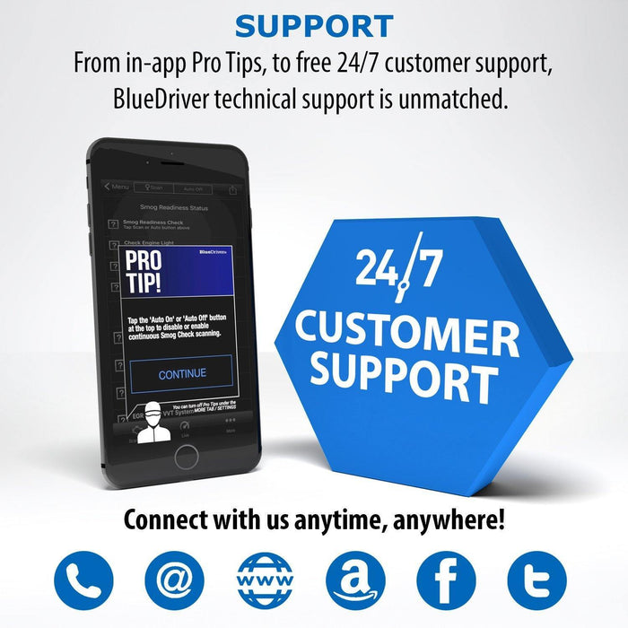 BlueDriver Bluetooth Pro OBDII Scan Tool for iPhone & Android - iregalijoy.com