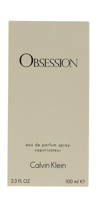 OBSESSION 3.3 oz Eau de Parfum for Women Calvin Klein - iregalijoy.com