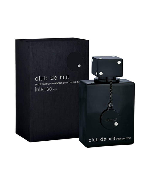 Club De Nuit Intense Man EDT Men New in Box, Black , 3.6 Fl Oz - iregalijoy.com
