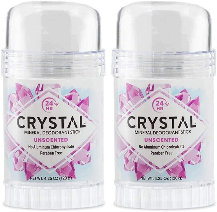 Crystal Deodorant Stick 4.25oz (2 Pack) - iregali