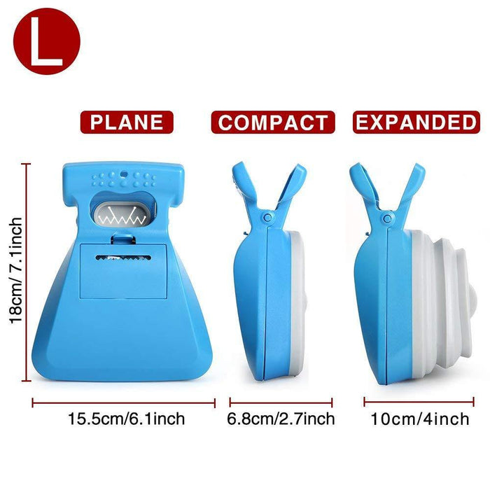 Dog Poop Bag Dispenser Travel Foldable Pooper Scooper Poop Scoop Clean Pick Up Animal Waste Waste Picker Cleaning Pet Products - iregalijoy.com