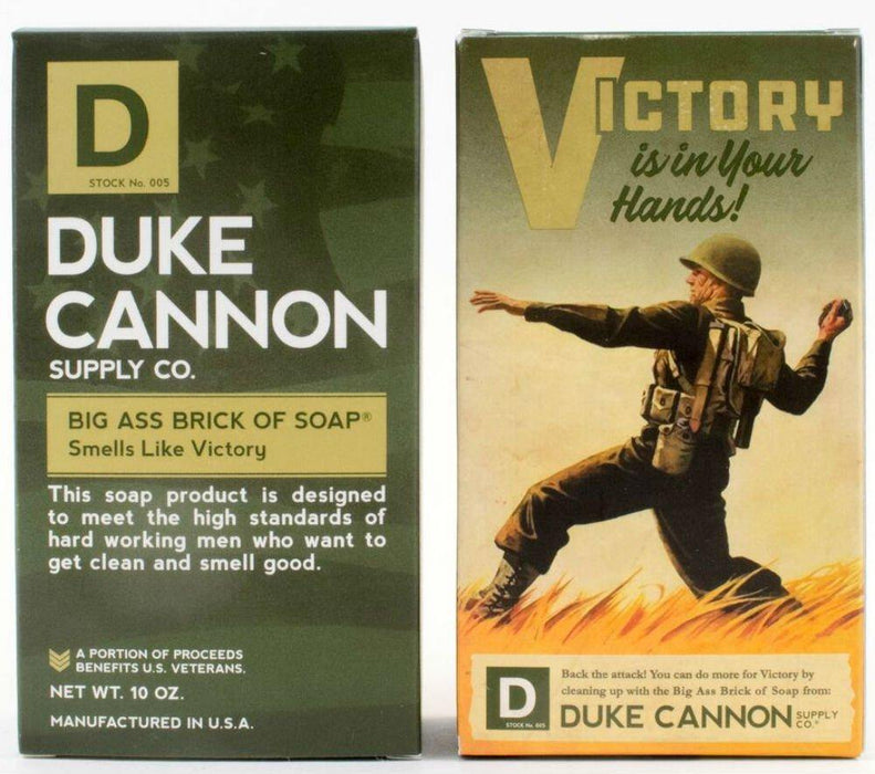 WWII Era Collection of Men's Big Brick of Soap: Accomplishment, Victory, Naval Supremacy, and Productivity - iregali