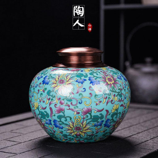 Enamel Pet urn Funeral Urn Cremation Urn For Human Ashes Adult Large Pet for Burial At Home In Niche At Columbarium 1200ML,750ML - iregalijoy.com