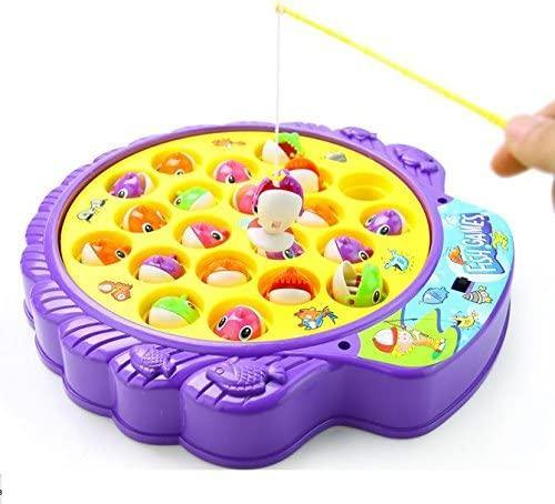 Fishing Game Toy Set with Rotating Board - iregalijoy.com