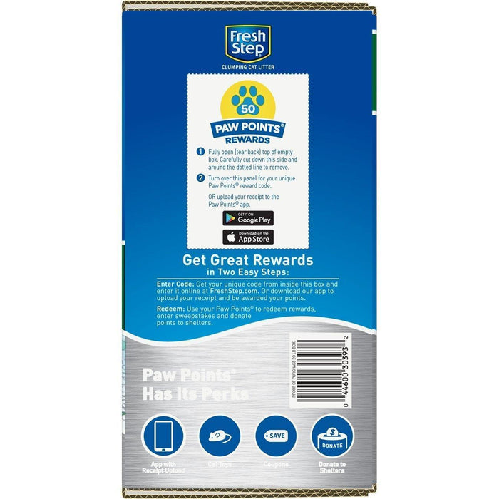 Fresh Step Scented Litter with The Power of Febreze, Clumping Cat Litter, 20 Pounds - iregalijoy.com