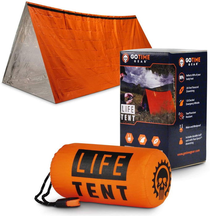 Gear Life Tent Emergency Survival Shelter – 2 Person Emergency Tent – Use As Survival Tent - iregalijoy.com