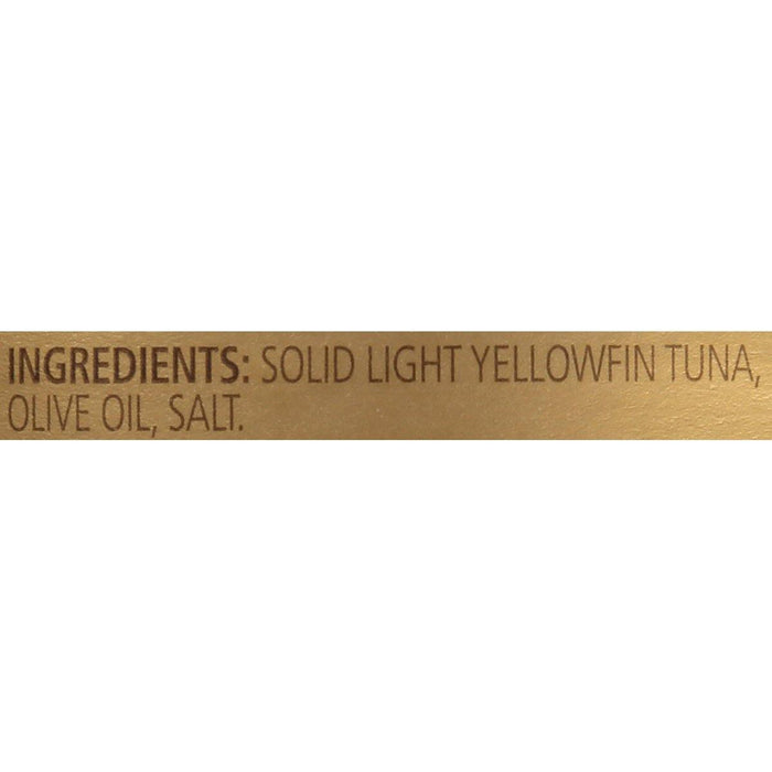 Genova Yellowfin Tuna in Olive Oil, 5 ounce can (Pack of 8) - iregali