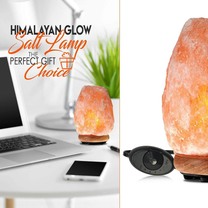 Himalayan Glow  Crystal Salt Lamp Salt Lamps 11 to 15 pounds - iregalijoy.com