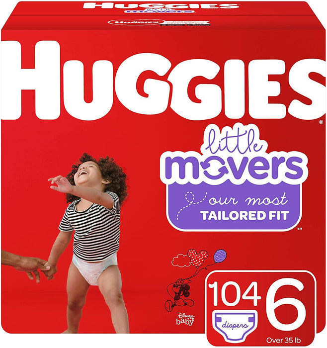 Huggies Little Movers, Baby Diapers all sizes - iregalijoy.com