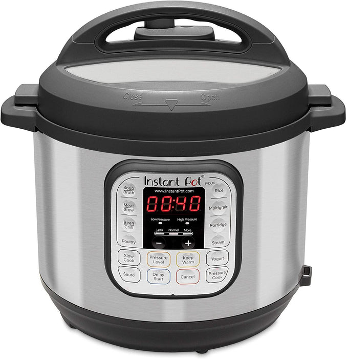 Instant Pot Duo 7-in-1 Electric Pressure Cooker, Sterilizer, Slow Cooker, Rice Cooker, Steamer, Saute, Yogurt Maker, and Warmer 6 quart - iregali