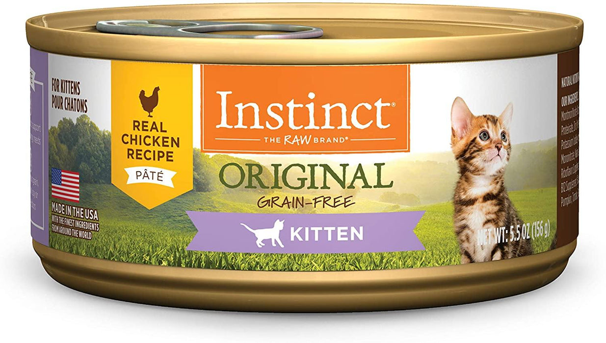 Instinct Original Kitten Grain Free Recipe Natural Cat Food - iregalijoy.com