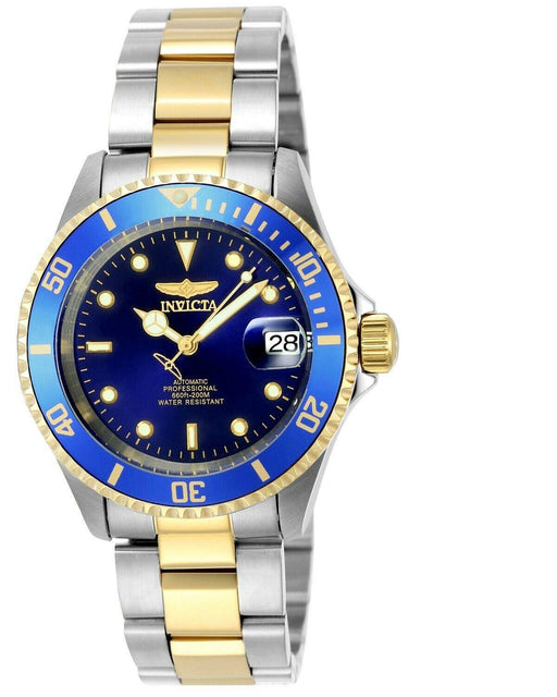 Invicta Men's 8928OB Pro Diver Gold Stainless Steel Two-Tone Automatic Watch - iregalijoy.com