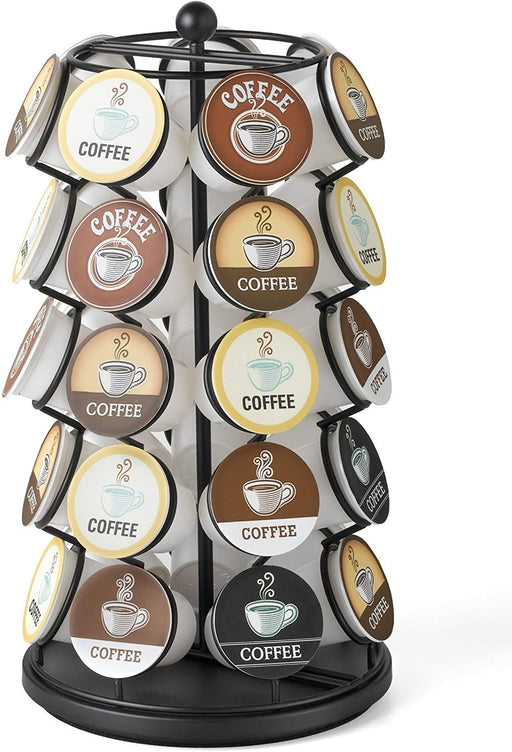 K-Cup Carousel - Holds 35 K-Cups in Black - iregalijoy.com