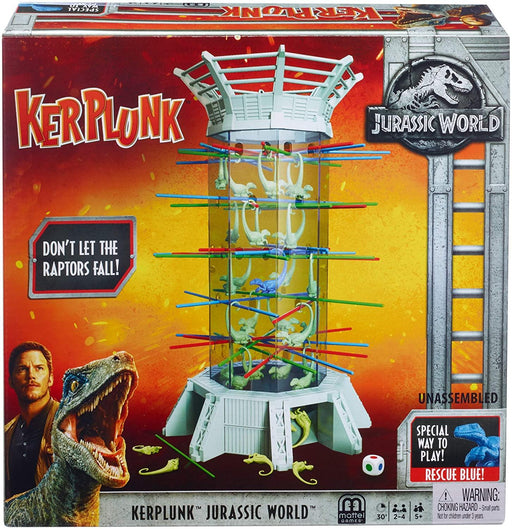 Kerplunk! Raptors Jurassic World - iregalijoy.com
