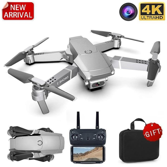 LSRC 2020 E68pro Mini Drone HD 4K 1080P WiFi FPV Camera Drones Height Hold Mode RC Foldable Quadcopter Dron Boy Toy Gift E58/E68 - iregali