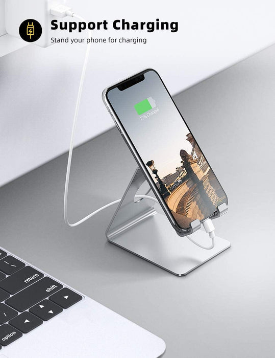 Cell Phone Stand, Phone Dock : Cradle, Holder, Stand Compatible with Switch, All Smartphone - iregali