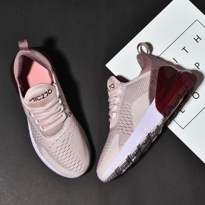 Light Weight Running Shoes For Women Sneakers Women Breathable rubber Couple Sport Shoes - iregalijoy.com