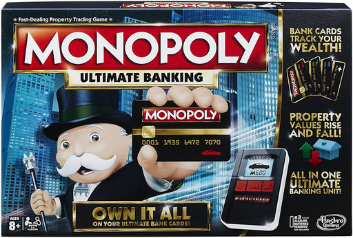 Monopoly Ultimate Banking Board Game - iregalijoy.com