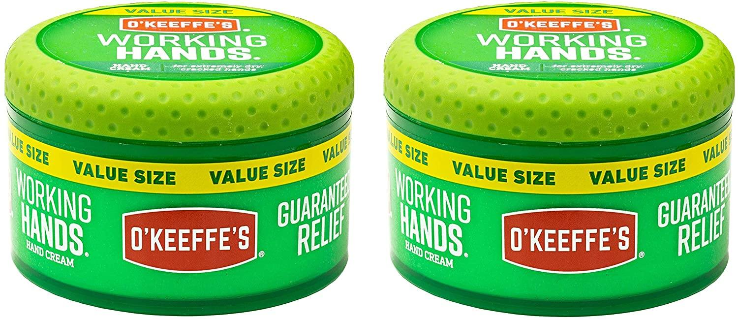 O'Keeffe's K0680001-2 Working Hands Hand Cream in Jar (2 Pack), 6.8 oz - iregali