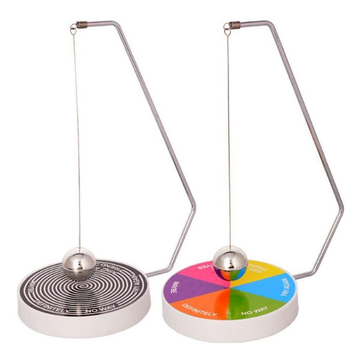 Pendulum Dynamic Desk Toy Novelty Decision Maker Gift Decoration Accessories Magnetic Swinging Game Fate Funny Desktop Brinquedo - iregalijoy.com