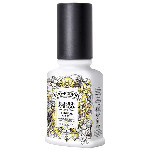 Poo-Pourri Before-You-Go Toilet Spray 2 oz Bottle, Original citrus scent IREGALI
