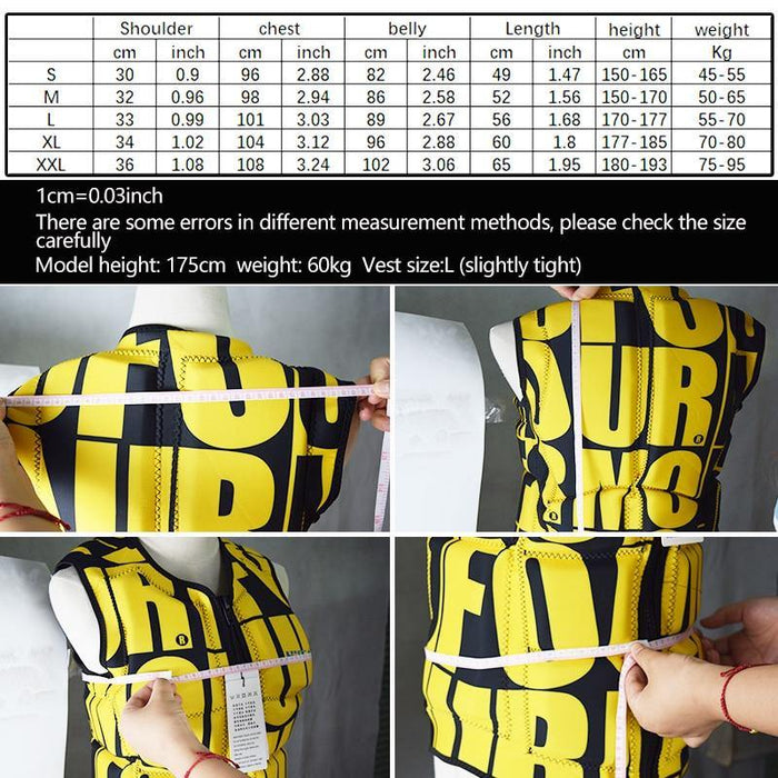 Profession Life Vest Surfing Adult Children Life Vest Clothes Kayak Boat Drifting Safety Life Jacket Water Sports Swimming Vest - iregali