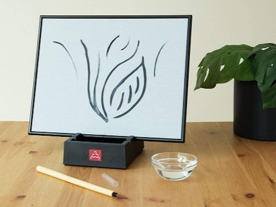 Relaxing Water Painting with Bamboo Brush & Stand, Mindfulness & Meditation Practice, Environmentally Friendly. Zen Concept Live in The Moment. Master The Art of letting go. - iregalijoy.com