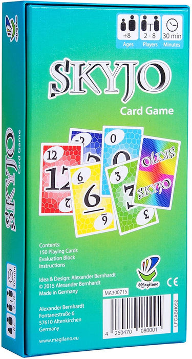 SKYJO The Ultimate Card Game for Kids and Adults. - iregali