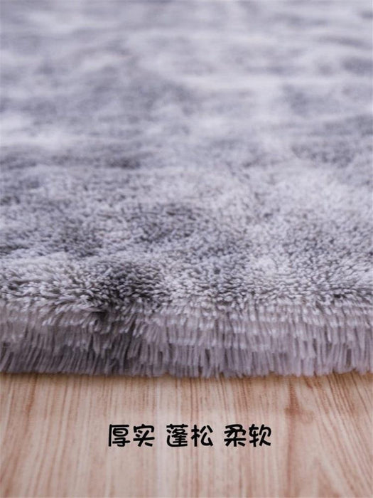 Sofa large area bedroom bedside fluffy carpet floor mat living room bedroom full fluffy carpet floor mat rug - iregalijoy.com