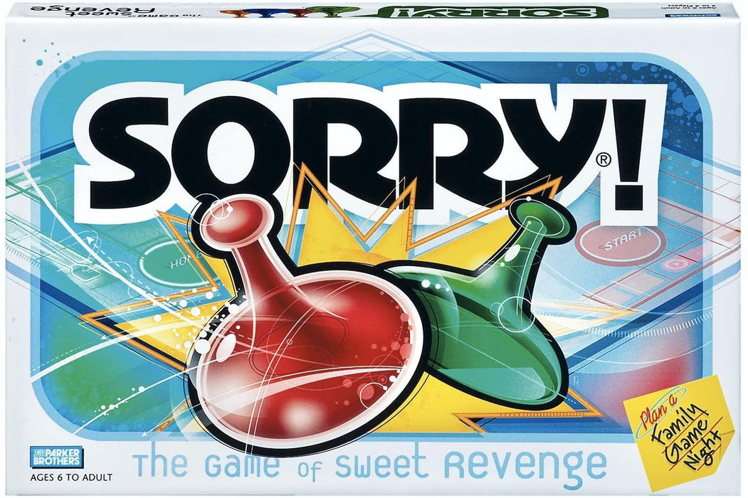 Sorry Board Game, Game Night, Ages 6 and up - iregali