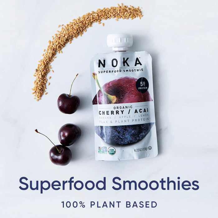 Superfood Pouches (6 Flavor Variety) 6 Pack | 100% Organic Fruit And Veggie Smoothie Squeeze Packs - iregalijoy.com