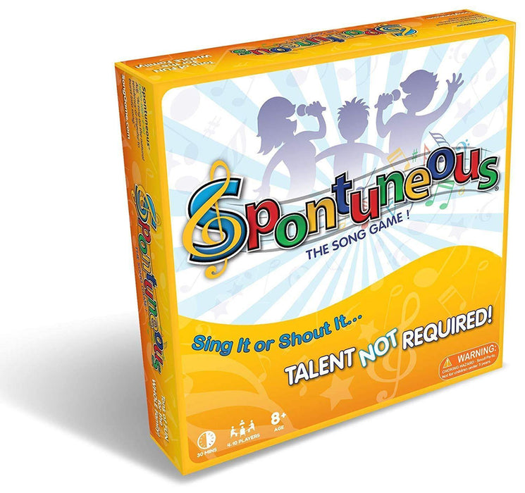 The Song Game - Sing It or Shout It - Talent NOT Required Best Family / Party Board Games for Kids, Teens, Adults - Boy & Girls Ages 8 & Up) - iregalijoy.com
