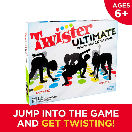 Twister Ultimate: Bigger Mat, More Colored Spots, Family, Kids Party Game Age 6+ - iregalijoy.com
