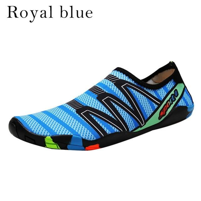 Unisex Sneakers Swimming Shoes Water Sports Beach Surfing Slippers Light Athletic Footwear Men Women - iregalijoy.com