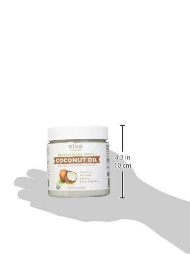 Viva Naturals Organic Extra Virgin Coconut Oil, 16 Ounce - iregalijoy.com
