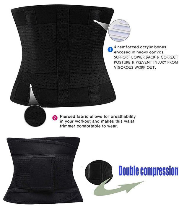 Waist Trainer Belt for Women - Waist Trimmer - Slimming Body Shaper Belt - Sport Girdle Belt - iregalijoy.com