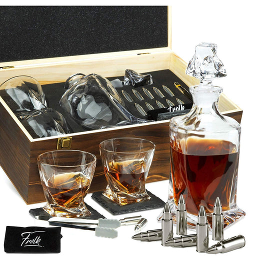 Whiskey Decanter Gift Set for Men - Whiskey Decanter - iregalijoy.com
