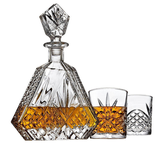 Whiskey Decanter set for Liquor Scotch Bourbon or Wine - iregalijoy.com