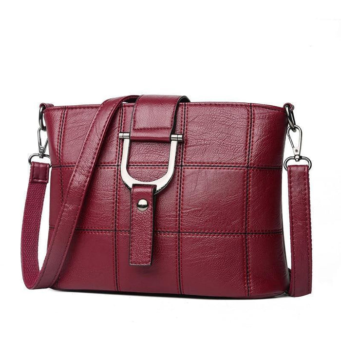 Women Messenger Bag Shoulder Bag Quality PU Leather Women Handbag Shopping Shoulder Bags For Women - iregalijoy.com