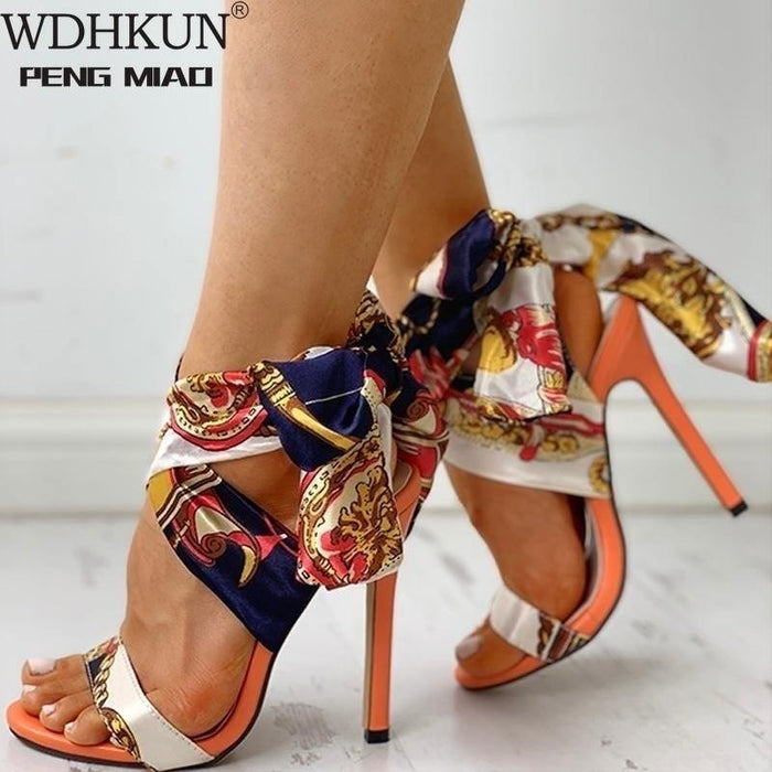 Women Sandals Fashion High Heels Sandals Shoes Woman Peep Toe Stiletto Sexy Women Heels Chaussures Femme Summer Pumps Women - iregalijoy.com