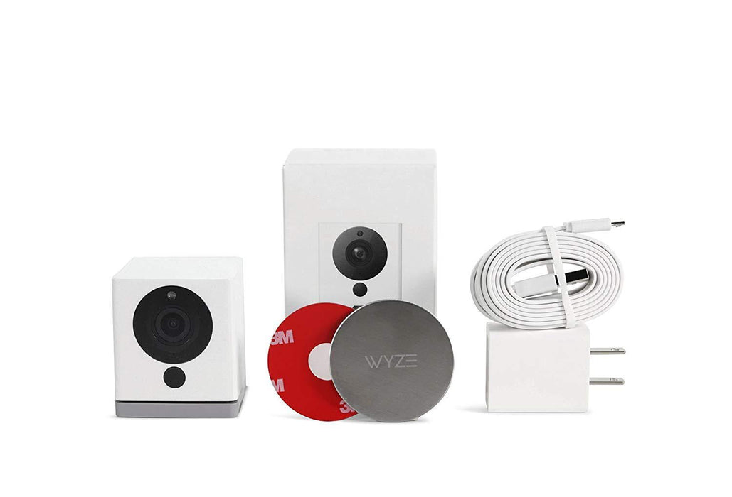Wyze Cam 1080p HD Indoor Wireless Smart Home Camera with Night Vision, 2-Way Audio, Works with Alexa - iregalijoy.com