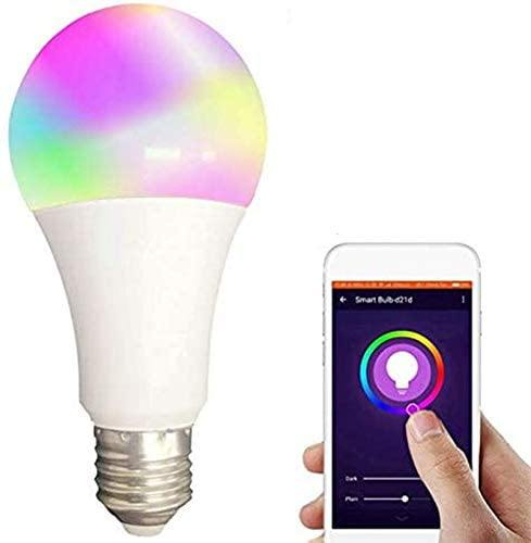 15W Smart Light Bulb Dimmable WiFi LED Lamp E27 Color Changing Lamp RGB Magic Bulb 110V 220V APP Operate Alexa Google Assistant - iregalijoy.com