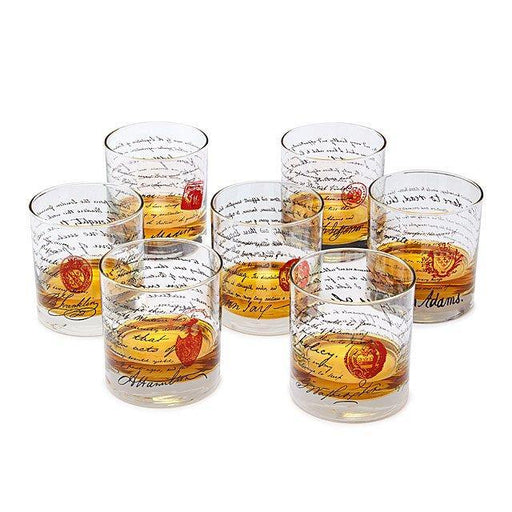 USA Founding Fathers Whiskey Glasses - iregalijoy.com