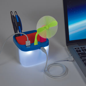 USB<br>Desk Caddy/Charging Station