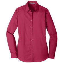 Load image into Gallery viewer, Ladies' Port Authority <br>Carefree Poplin Shirt